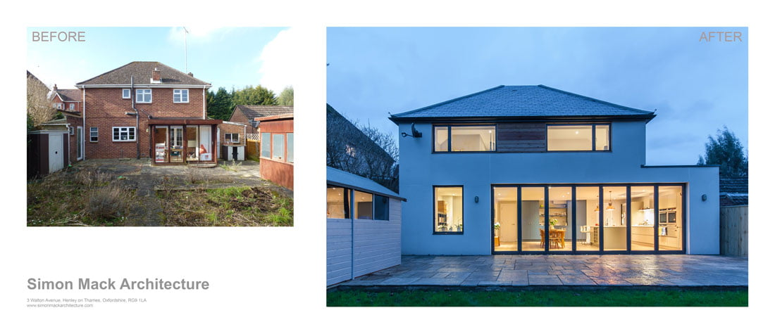 Sustainable architecture and building design, architect Oxfordshire, architect Berkshire, Architect Buckinghamshire, Architect Hampshire, local architect, contemporary architecture, house extensions, home extensions, sustainable building materials, sustainable design, architecture firm, architectural design Berkshire, Listed Building Architectural design Buckingham, skylight, velux windows, kitchen designs, natural light, bi-fold doors, kitchen extension,